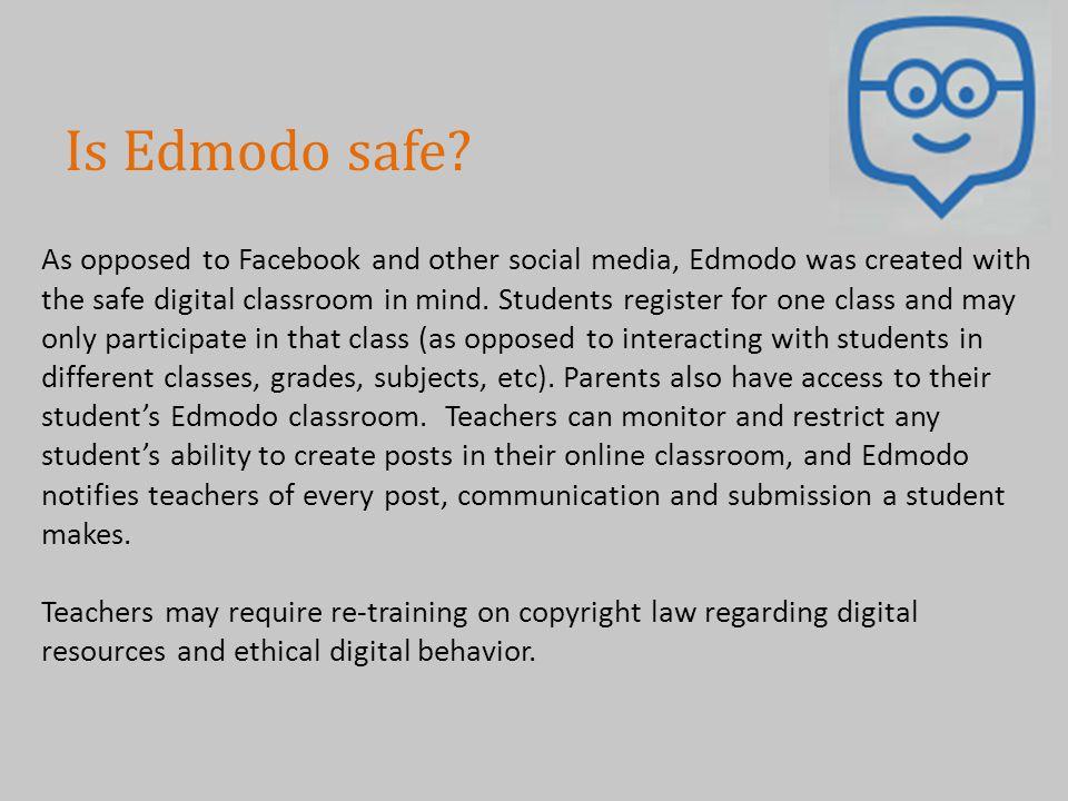 Is Edmodo safe