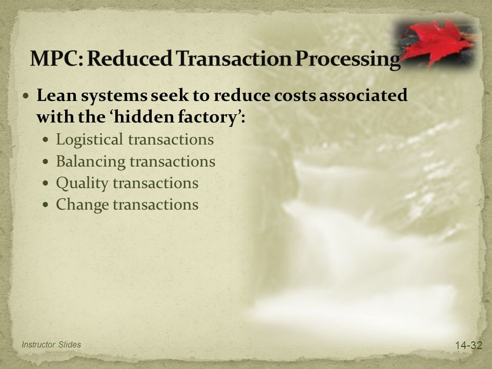MPC: Reduced Transaction Processing