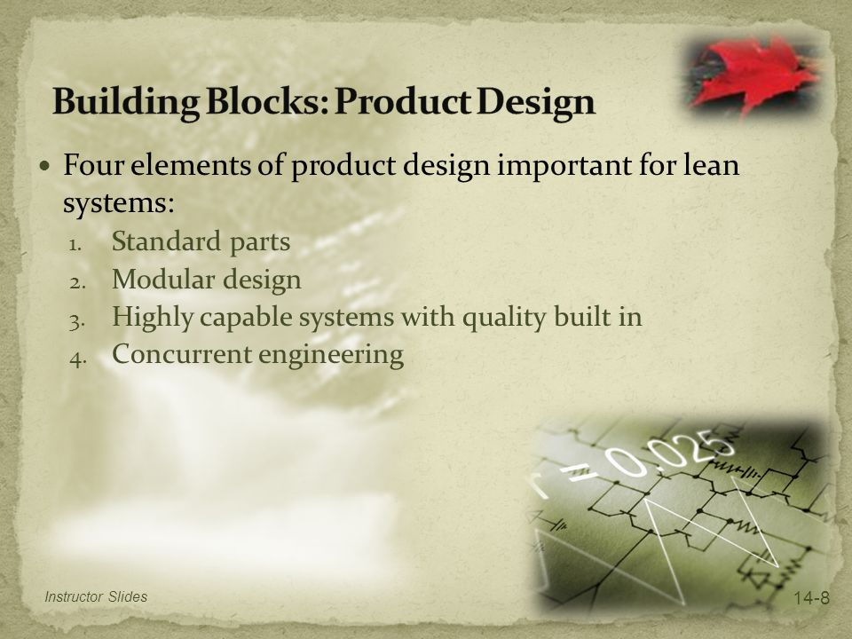 Building Blocks: Product Design