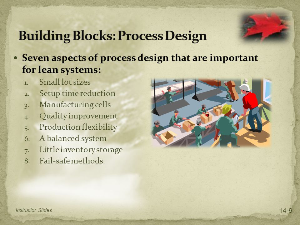 Building Blocks: Process Design