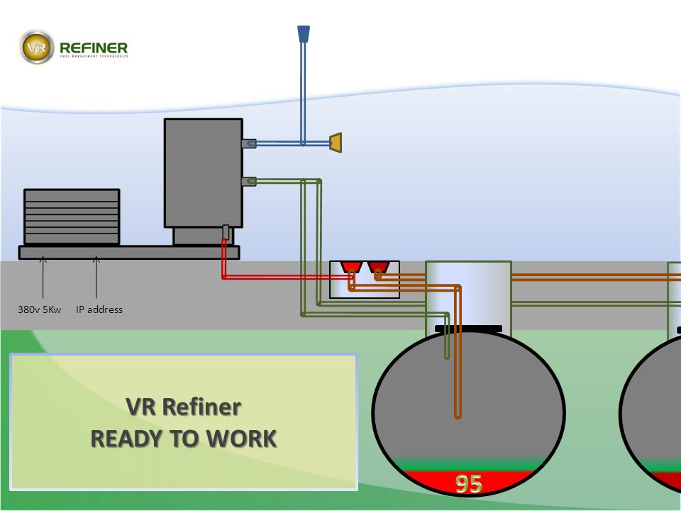 VR Refiner READY TO WORK 95