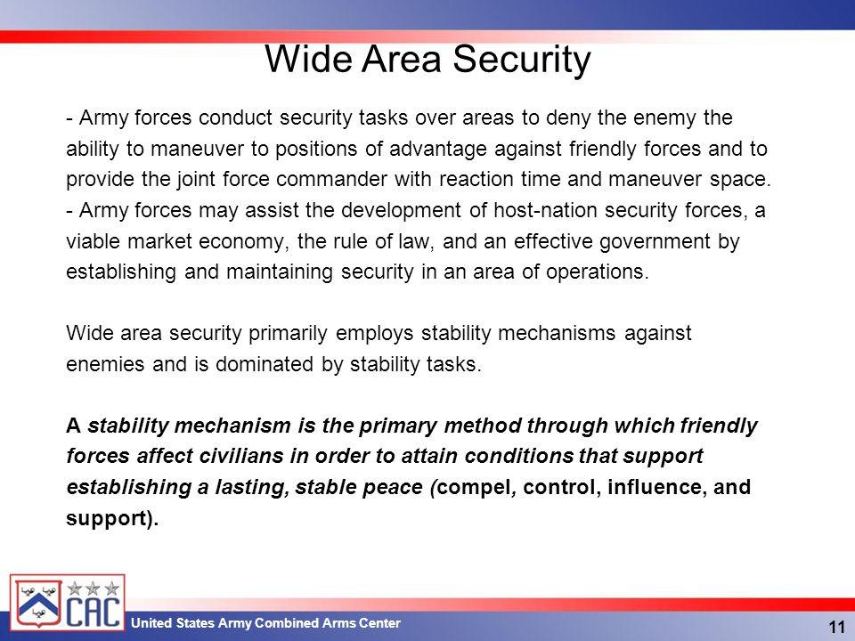 Wide Area Security