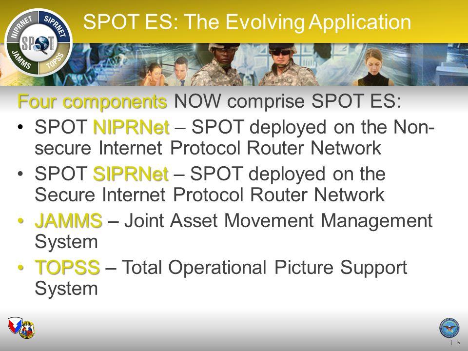 SPOT ES: The Evolving Application