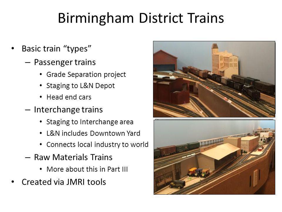 Birmingham District Trains