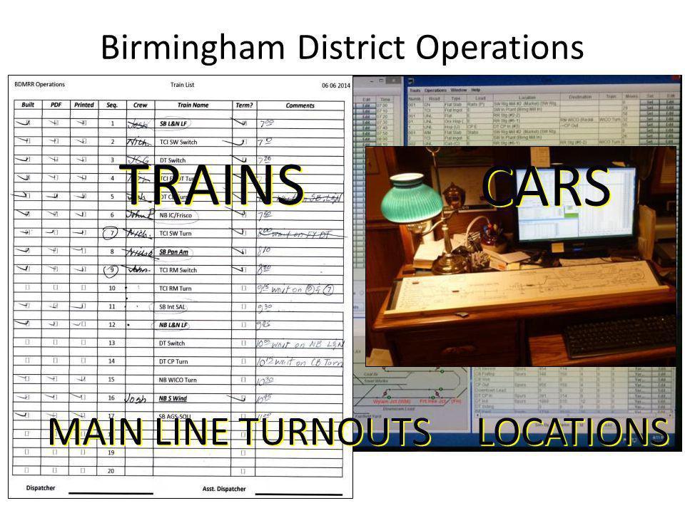 Birmingham District Operations