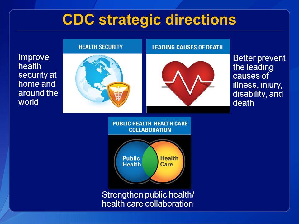 CDC strategic directions