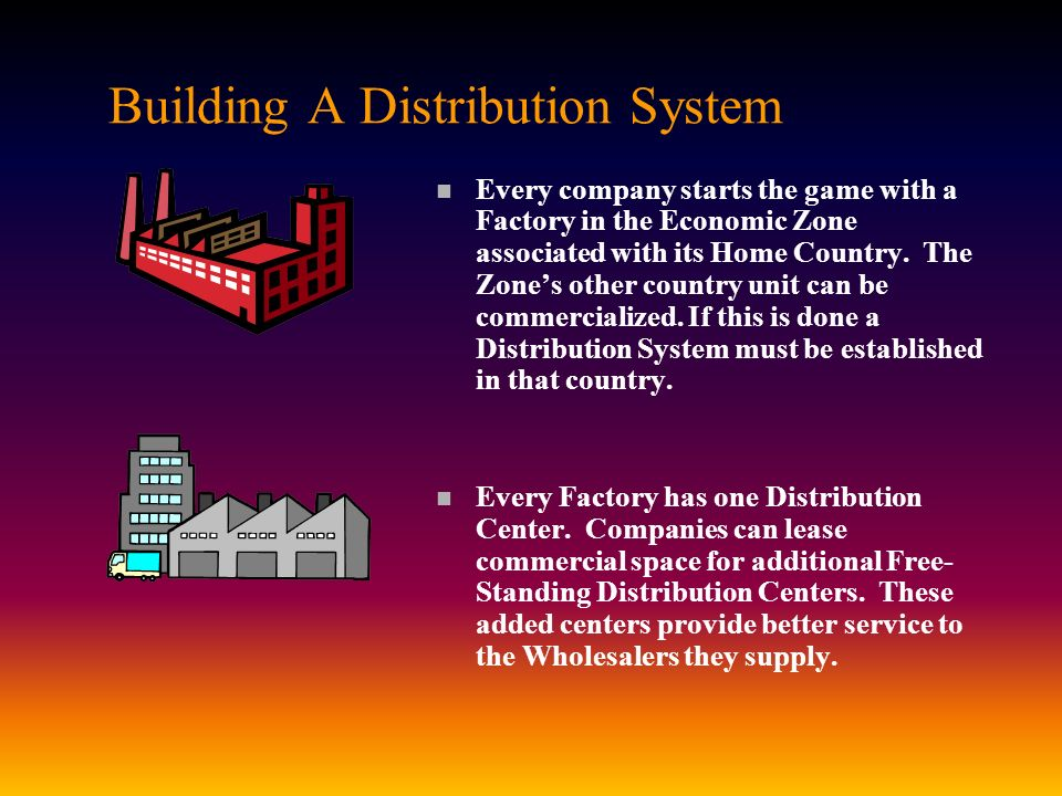 Building A Distribution System