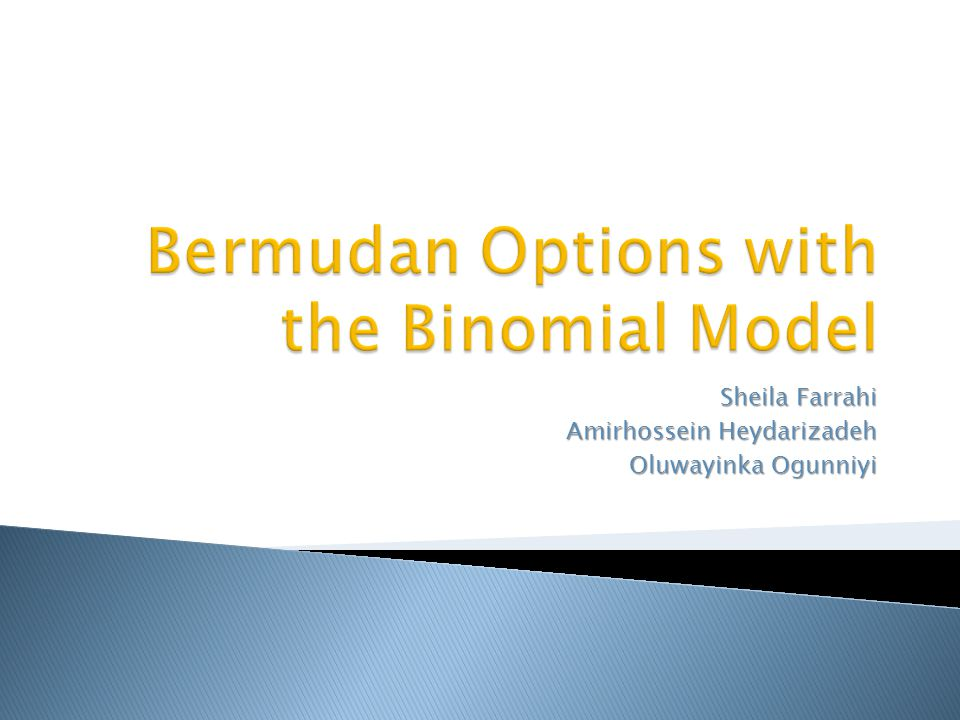 Bermudan Options with the Binomial Model