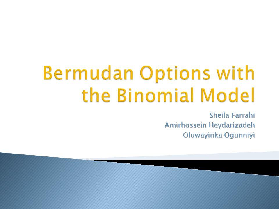Bermudan Options with the Binomial Model