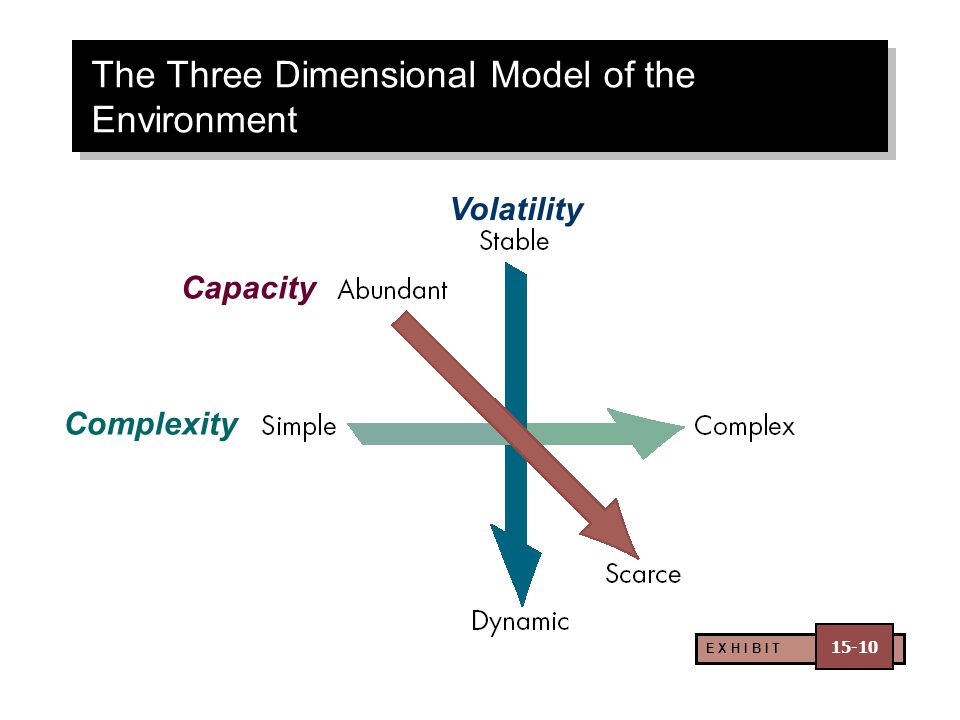 The Three Dimensional Model of the Environment