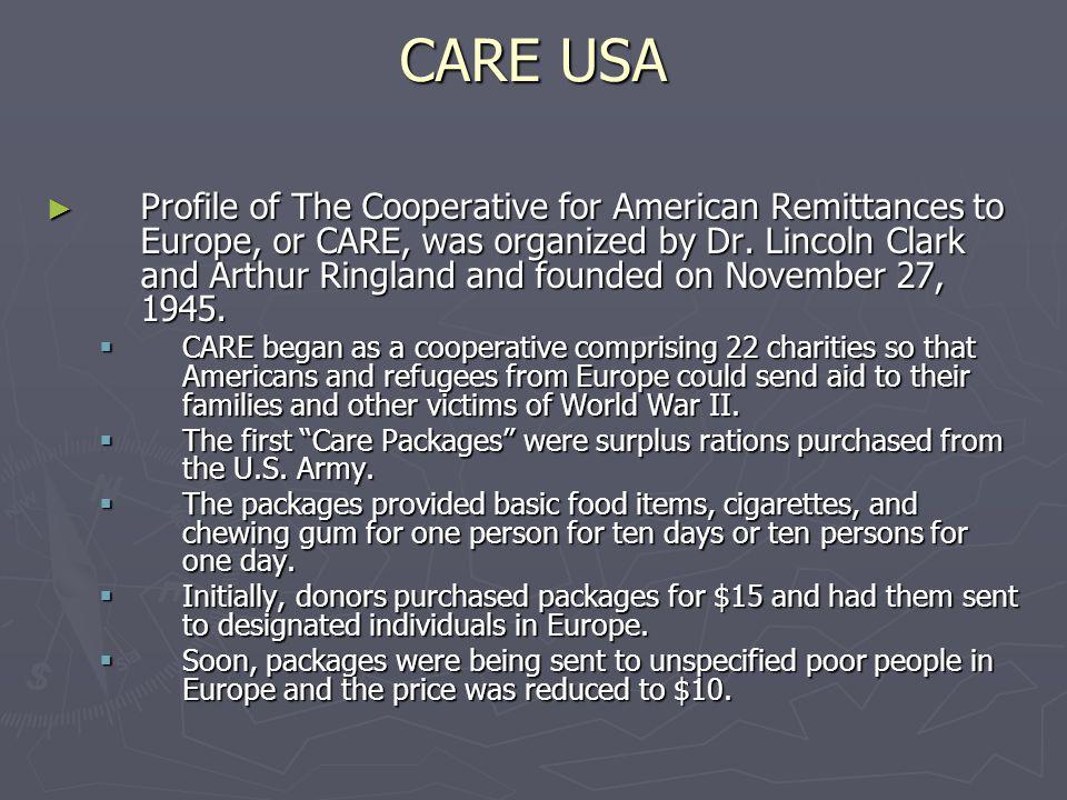 CARE USA