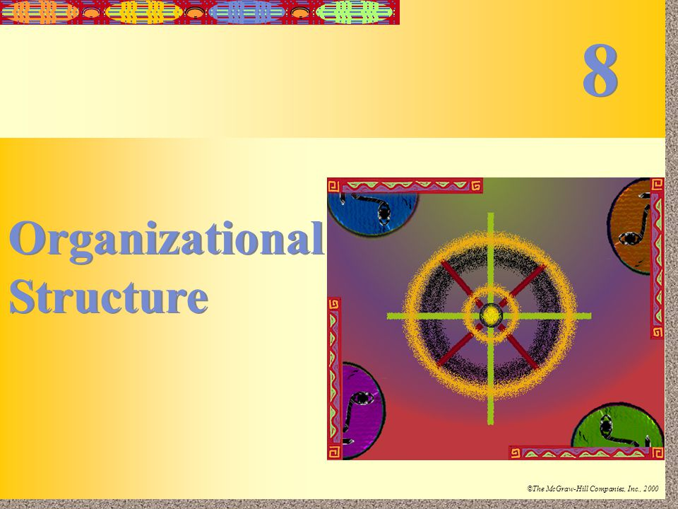 8 Organizational Structure