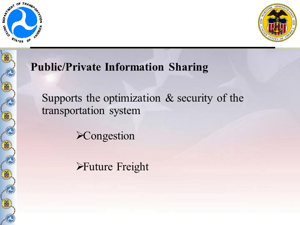 Public/Private Information Sharing