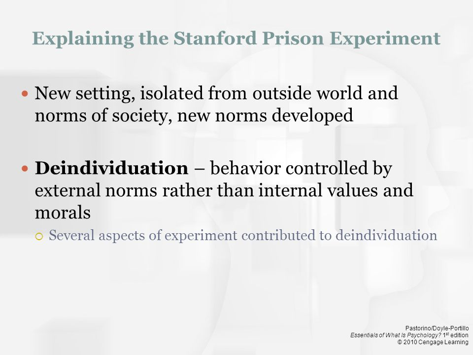 Explaining the Stanford Prison Experiment