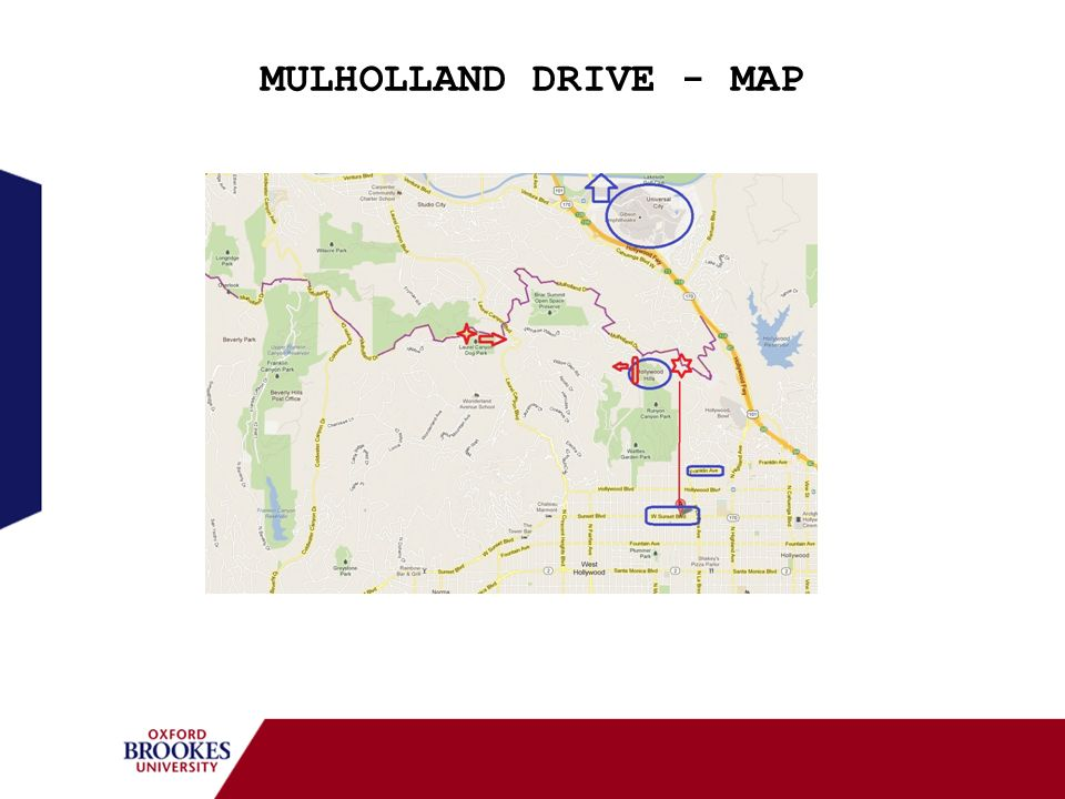 MULHOLLAND DRIVE - MAP 13