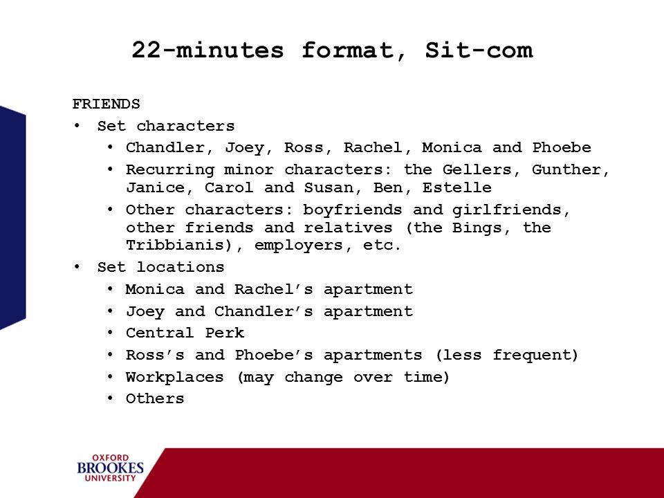 22-minutes format, Sit-com