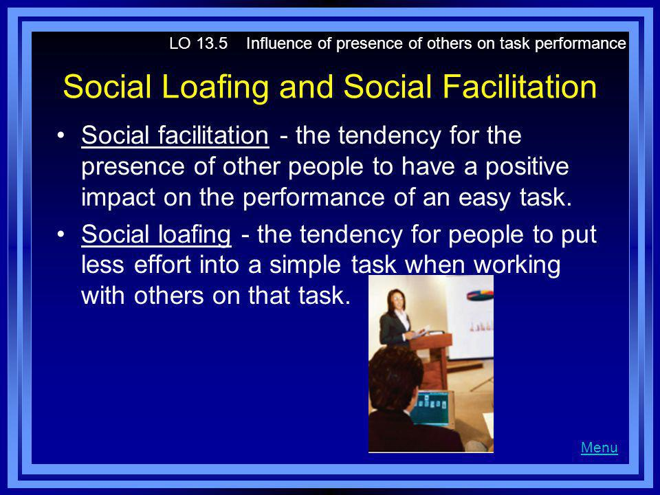 Social Loafing and Social Facilitation