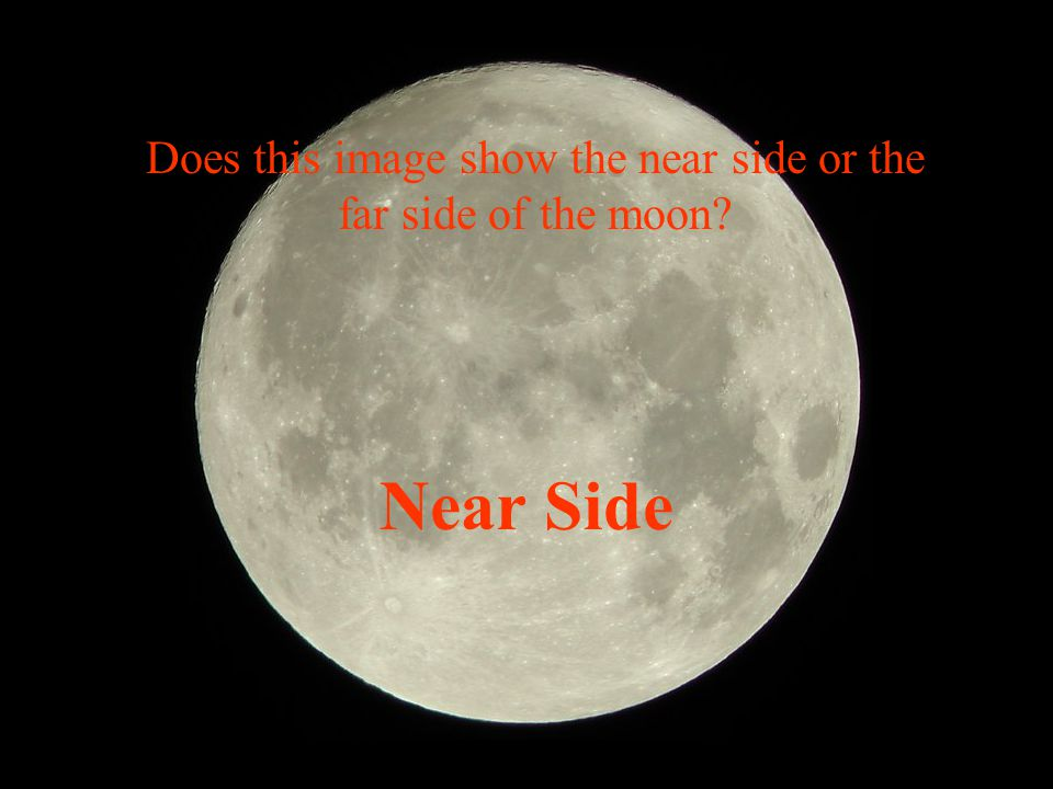 Does this image show the near side or the far side of the moon