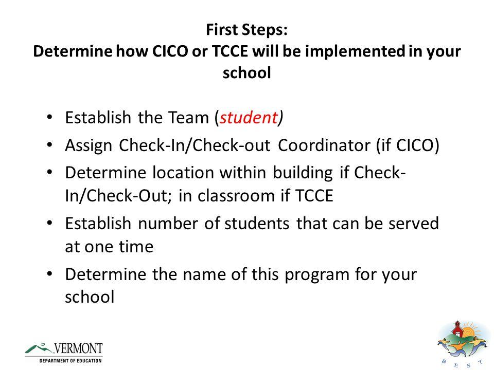 Establish the Team (student)