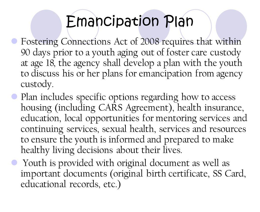 Emancipation Plan