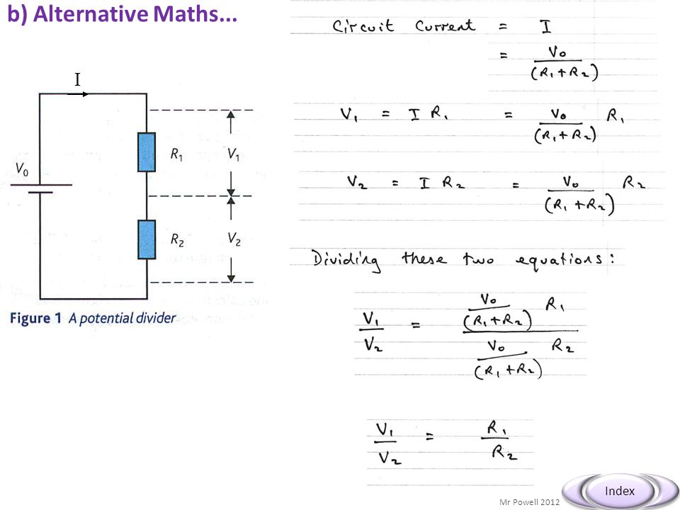 b) Alternative Maths... I