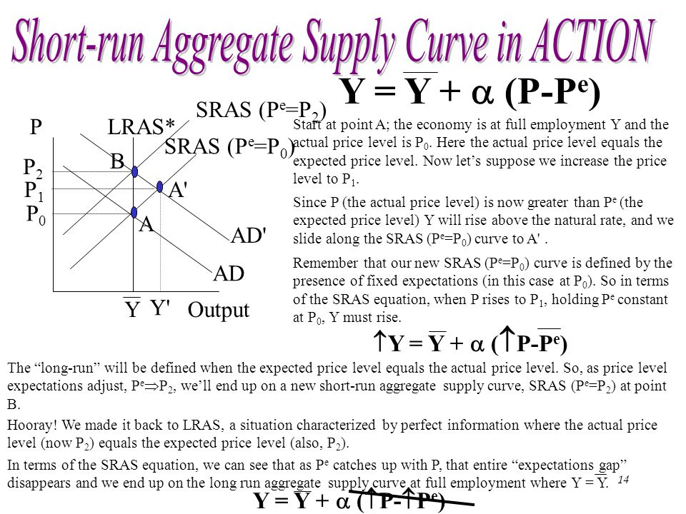 Short-run Aggregate Supply Curve in ACTION
