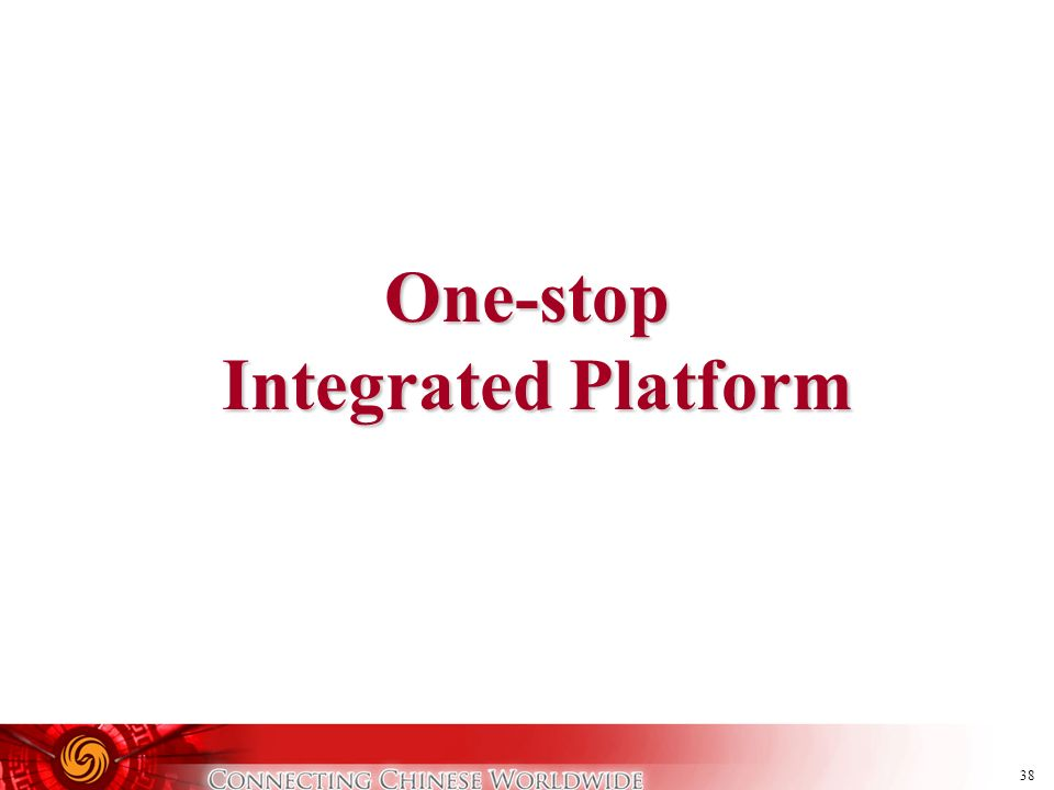 One-stop Integrated Platform
