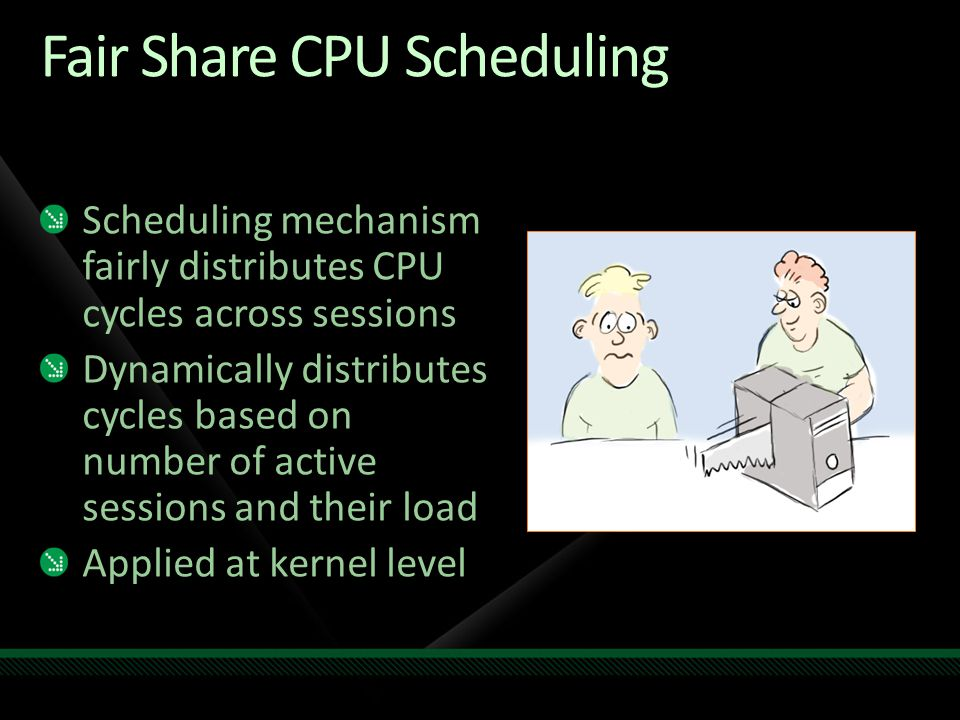 Fair Share CPU Scheduling