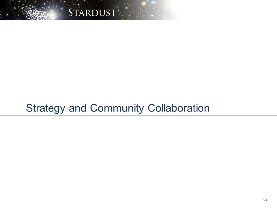 Strategy and Community Collaboration