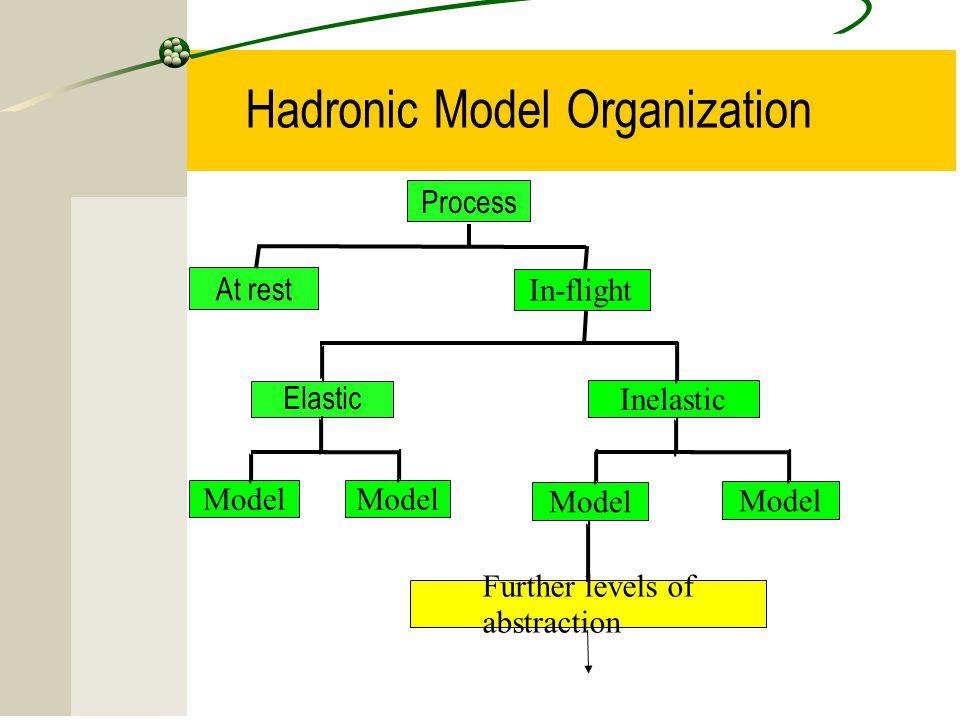 Hadronic Model Organization