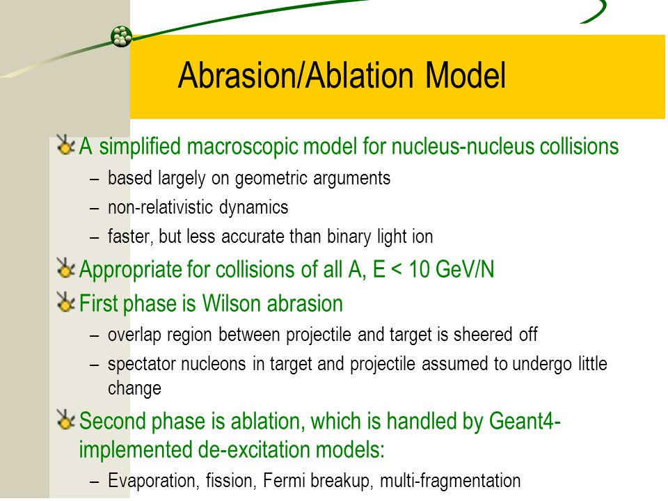 Abrasion/Ablation Model