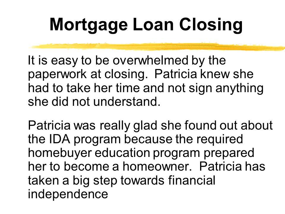 Mortgage Loan Closing