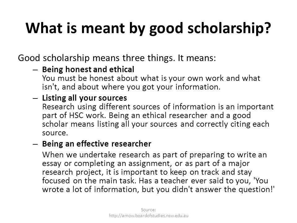 module principles and practices of good scholarship ppt  2 what