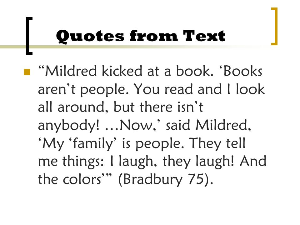 Quotes From Fahrenheit 451 Captivating Fahrenheit 451 Quotes Mildred Television
