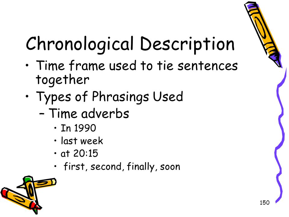 Chronological Description