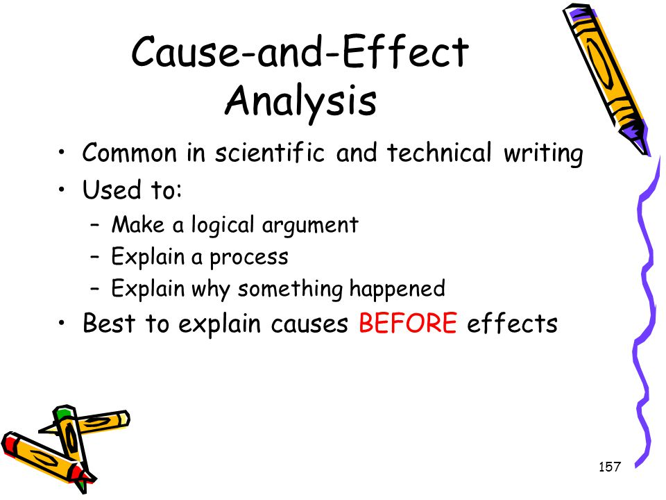 Cause-and-Effect Analysis