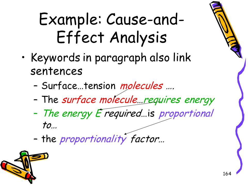Example: Cause-and-Effect Analysis