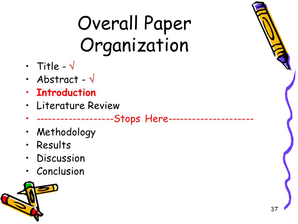 Overall Paper Organization