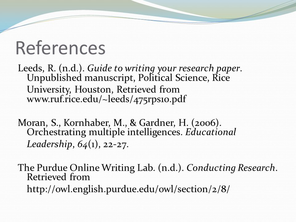 Crafting Your Research Paper - Ppt Download