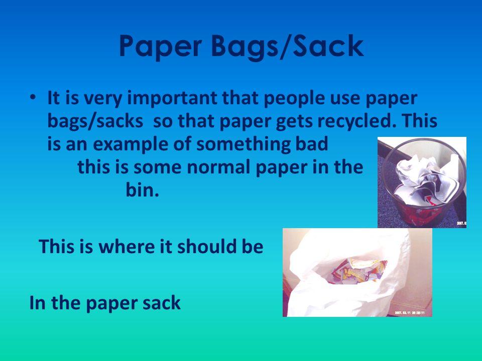 Paper Bags/Sack