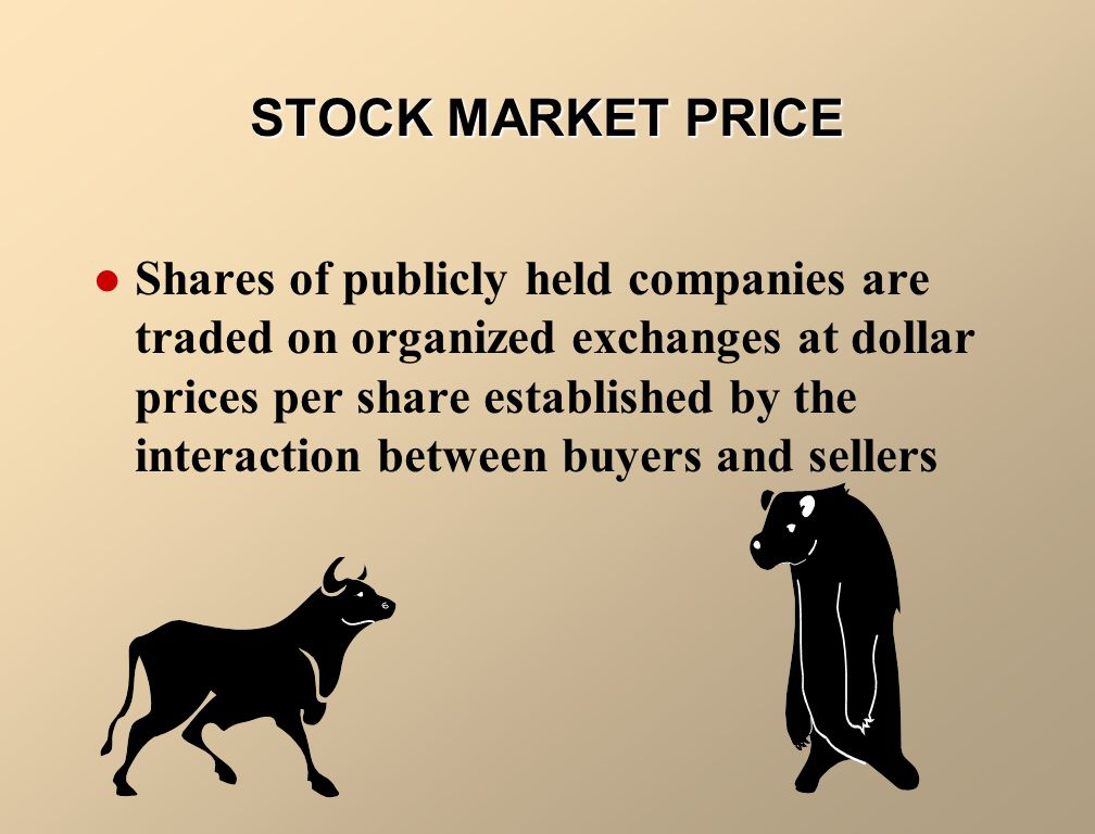 STOCK MARKET PRICE