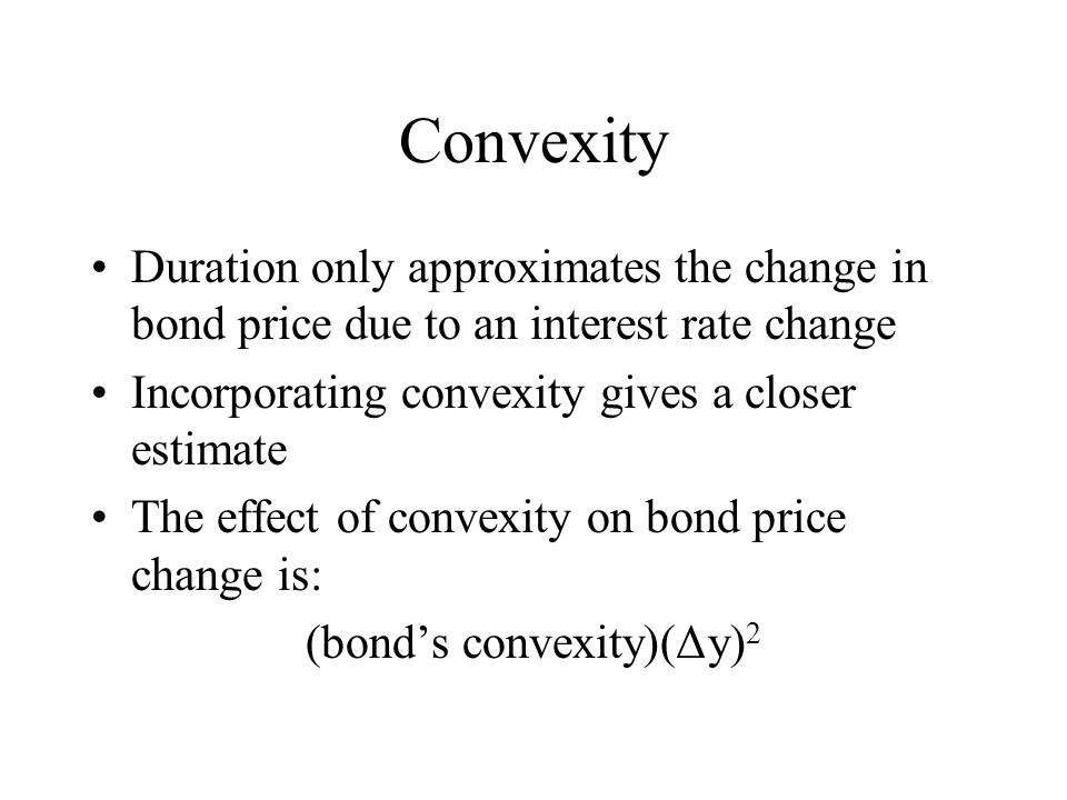 (bond's convexity)(Δy)2