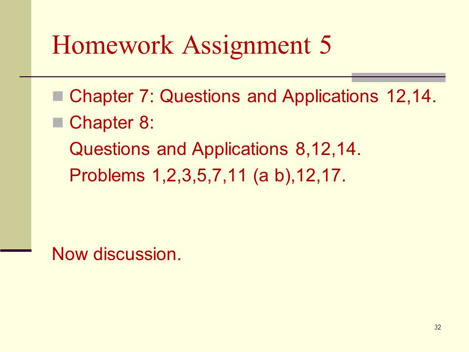 Homework Assignment 5 Chapter 7: Questions and Applications 12,14.