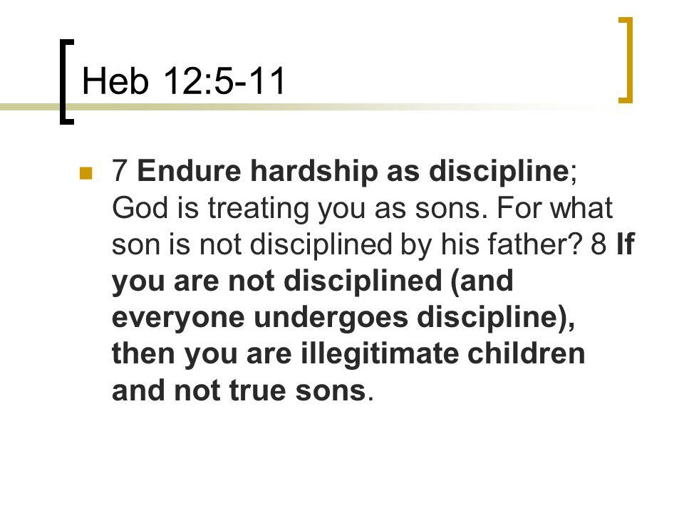 Heb 12:5-11