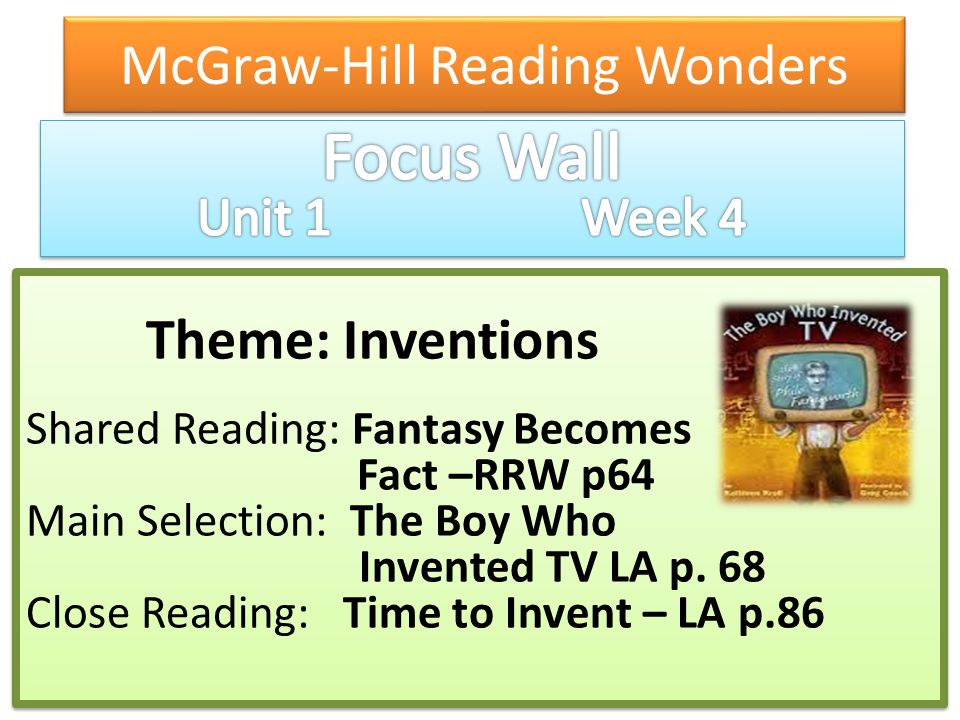 McGraw-Hill Reading Wonders