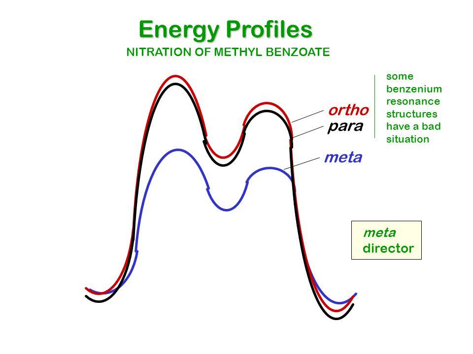 Energy Profiles ortho para meta meta director