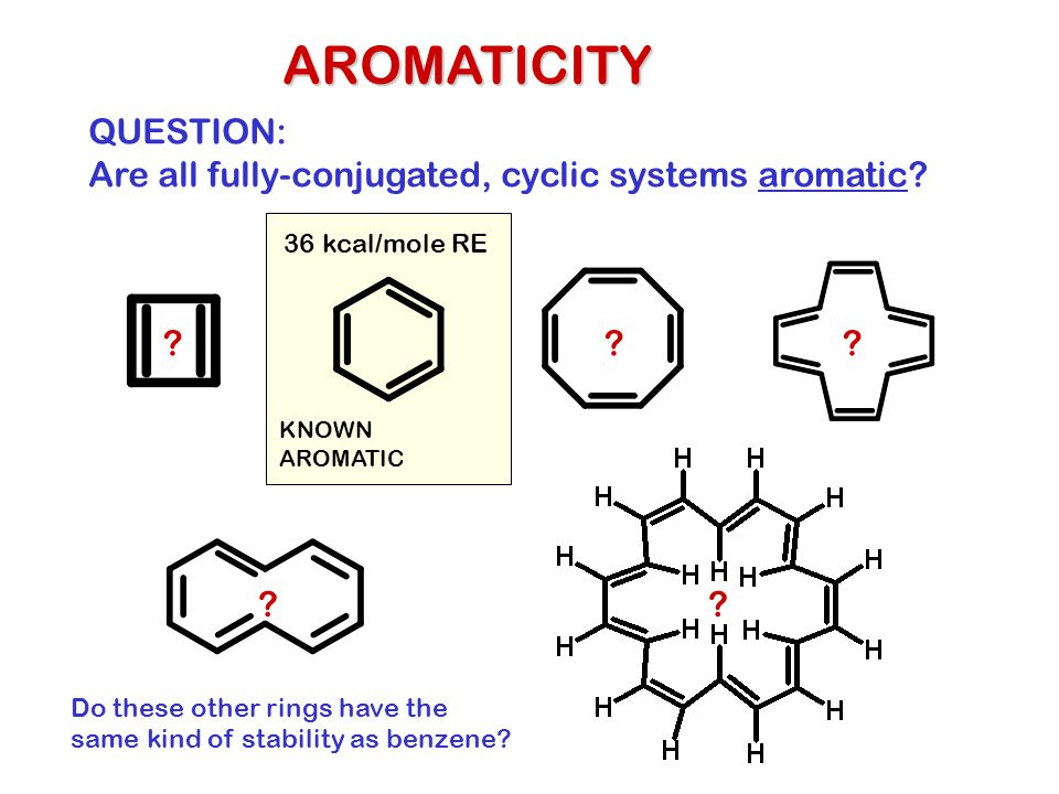 AROMATICITY QUESTION: