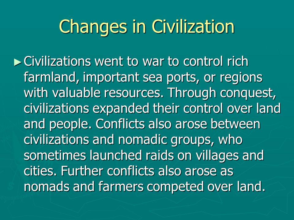 Changes in Civilization