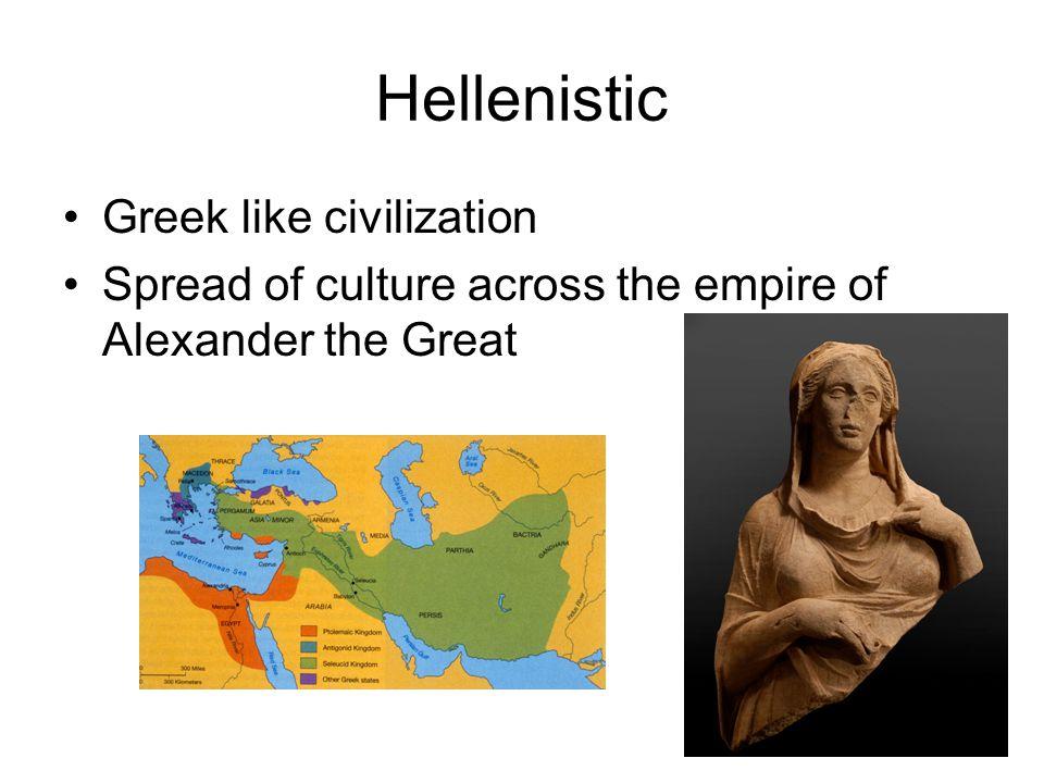 Hellenistic Greek like civilization