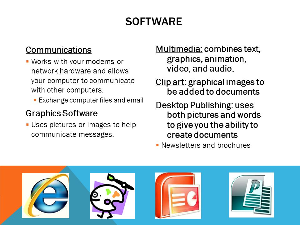 Software Communications Graphics Software